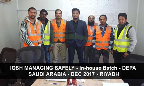 Safety Training Institute In-house Training Batch |Health